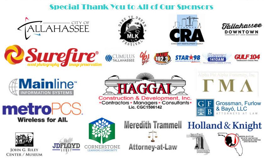 MLK 2016 Sponsors List