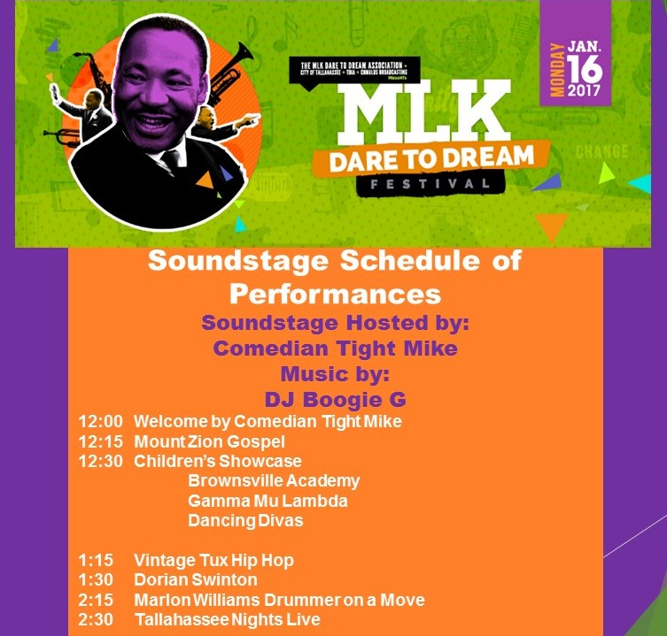 2017 - MLK Festival Lineup